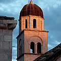 Franciscan Monastery Tower At Sunset by Artur Bogacki