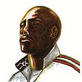 Franckie Fredericks Print by Emmanuel Baliyanga