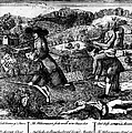 Franklin: Cartoon, 1764 by Granger