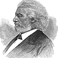Frederick Douglass (c1817-1895). American Abolitionist. Wood Engraving, American, 1877 by Granger