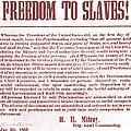Freedom To Slaves by Photo Researchers, Inc.