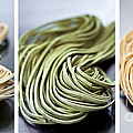 Fresh Tagliolini Pasta by Elena Elisseeva