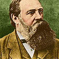 Friedrich Engels, Father Of Communism by Photo Researchers