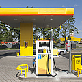 Fuel Pump At A Gas Station by Jaak Nilson