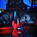 Garage Rock Print by Bill Cannon