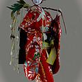 Geisha Elegance Print by Al Bourassa