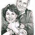 Gene And Majel Roddenberry by Murphy Elliott