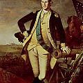 George Washington at Princeton Print by Charles Willson Peale