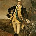 George Washington At Princeton by Charles Wilson Peale
