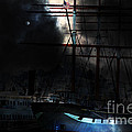 Ghost Ship Of The San Francisco Bay . 7d14032 by Wingsdomain Art and Photography