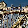 Giant Fun Fair by Adrian Evans