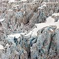 Glacial Crevasses by Mike Reid