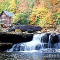 Glade Creek Grist Mill by Laurinda Bowling