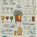 Glassware, Historical Artwork by Mid-manhattan Picture Collectionglassnew York Public Library