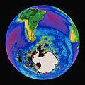 Global Biosphere, Southern Hemisphere, From Space by Gene Feldman, Nasa Gsfc