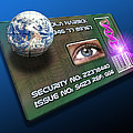 Global Id Card by Victor Habbick Visions