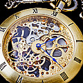Gold Pocket Watch by Garry Gay