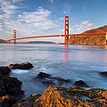 Golden Gate At Dawn by Brian Jannsen