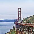 Golden Gate Bridge by Betty LaRue