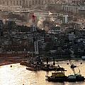 Golden Haze In Istanbul by John Rizzuto