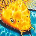 Golden Koi by Daniel Jean-Baptiste