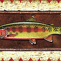 Golden Trout Lodge Poster by JQ Licensing