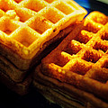 Golden Waffles by Rebecca Sherman