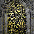 Golden Window - St Vitus Cathedral Prague by Christine Till