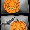 Good Pumpkin - Bad Pumpkin by Claudia Pflicke