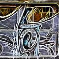 Graffeti Tram Car