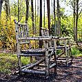 Grandmas Country Chairs by Athena Mckinzie