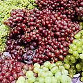 Grapes At A Market Stall by Jeremy Woodhouse