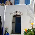 Greek Doorway by Jane Rix