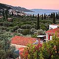 Greek Village  by Emmanuel Panagiotakis