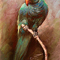 Green Parrot by Ylli Haruni