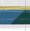 Green Triangle by Naxart Studio