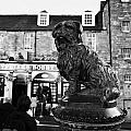 Greyfriars Bobby Statue In Front Of The Bar Candlemaker Row Edinburgh by Joe Fox
