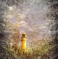 Grunge Light House by Svetlana Sewell
