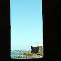 Guard Tower View Castillo San Felipe Del Morro San Juan Puerto Rico by Shawn O'Brien