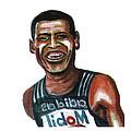 Haile Gebreselassie by Emmanuel Baliyanga