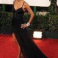 Halle Berry  Wearing A Nina Ricci Gown by Everett