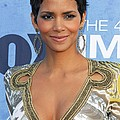 Halle Berry Wearing An Emilio Pucci by Everett