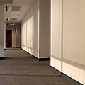 Hallway Of An Office Building by Will & Deni McIntyre