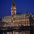 Hamburg City Hall by Benjamin Matthijs