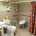 Handicapped-accessible Bathroom by Andersen Ross