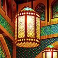 hanging lanterns Print by Farah Faizal