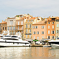 Harbour, St. Tropez, Cote D'azur, France by John Harper