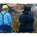 Harvesting The Corn by Bob Salo