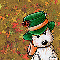 Hat Season Cairn Terrier by Kim Niles