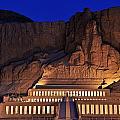 Hatshepsuts Mortuary Temple Rises by Kenneth Garrett